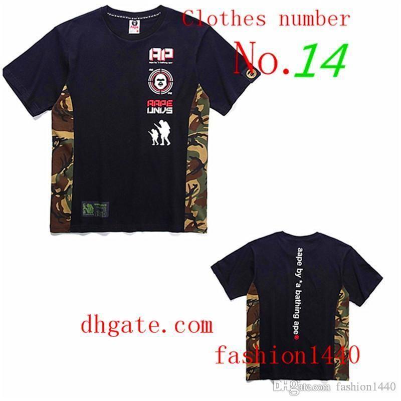 E03 2020 maymunlar Lüks erkek tenis gömlek yüksek kaliteli gelgit marka etiketi hip hop alfabesi ile Tişörtlü tasarımcı marka ittifak womens
