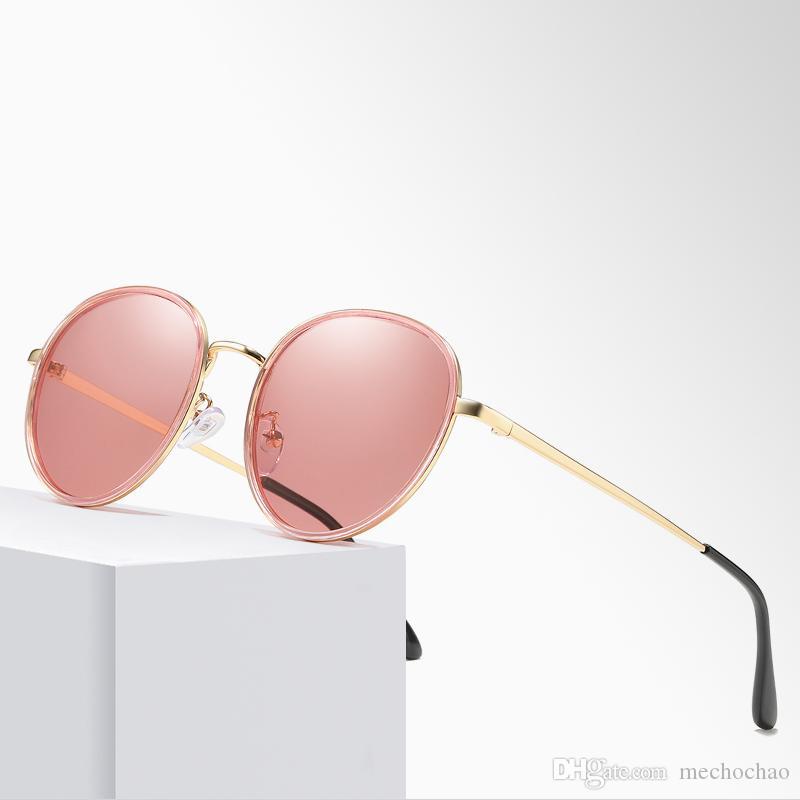Top New Men's and Women's Brand Designer Round Metal Sunglasses Designer Glasses Men's and Women's Sunglasses Unisex Premium Sunglasses