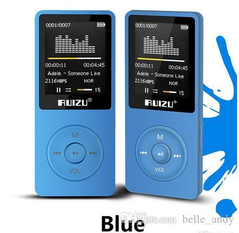 الأصلي إصدار اللغة الإنجليزية سامسونج لاعب MP3 مع تخزين 8GB و 1.8 بوصة وشاشة يمكن أن تقوم به 80H، والأصل RUIZU X02 DHL