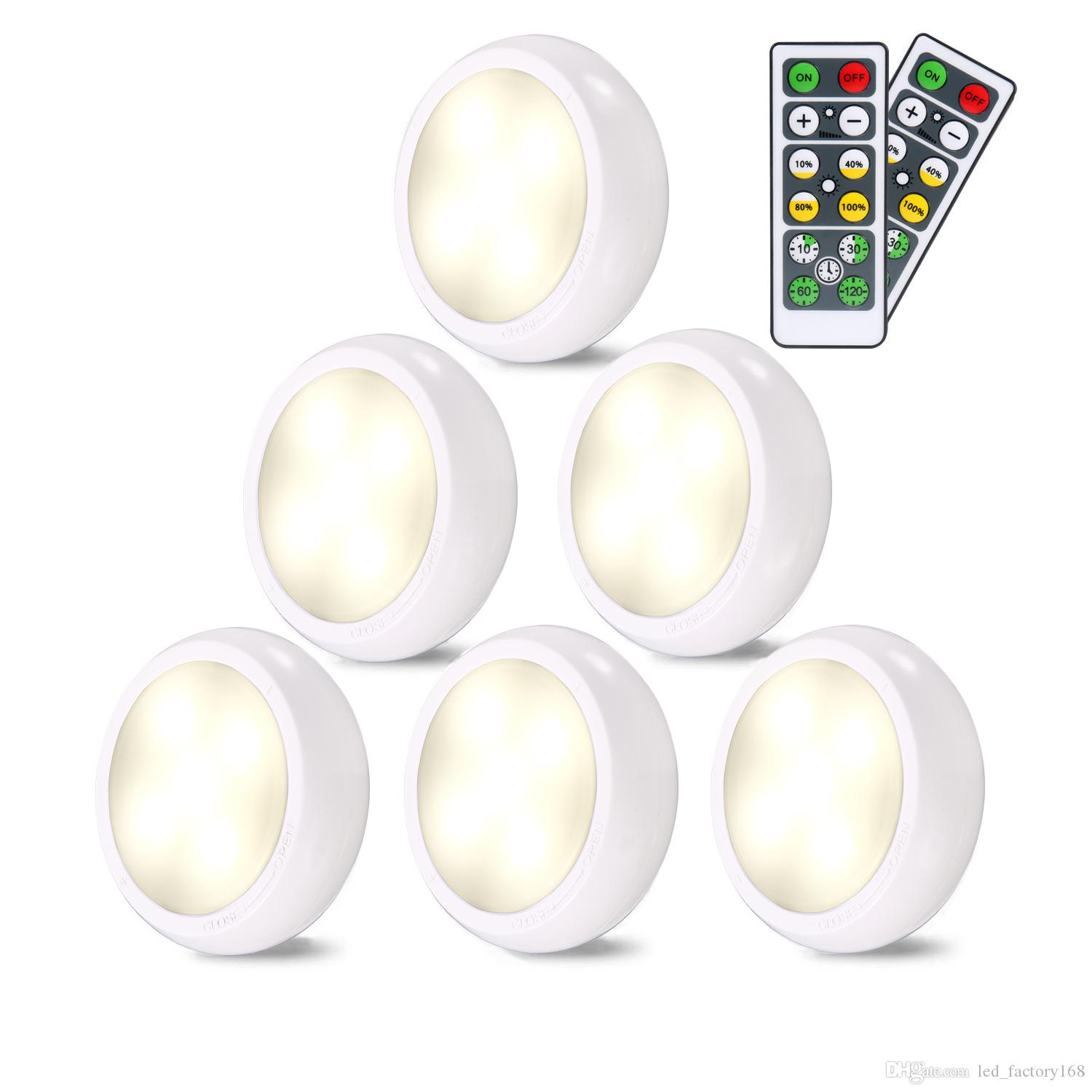 2020 Led Puck Lights Wireless Led Puck Lights Battery Operated 4000k Natural White 6 Pack Kitchen Under Cabinet Lighting Wireless Closet Lights From Led Factory168 9 05 Dhgate Com - Get Wireless Battery Operated Under Cabinet Lighting Pictures