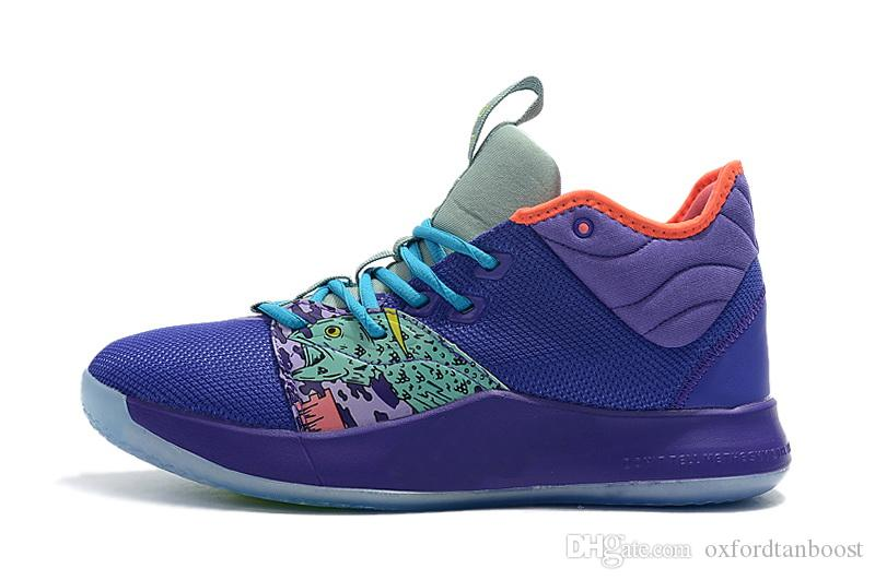 Paul George PG 3 Mamba Basketball Shoes