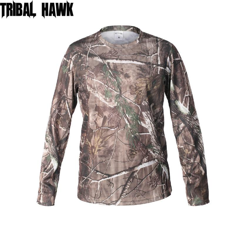 Men Camouflage Tactical T-shirts Summer Army Combat T Shirt T-shirt Paintball Hunt Clothing Men Quick-drying
