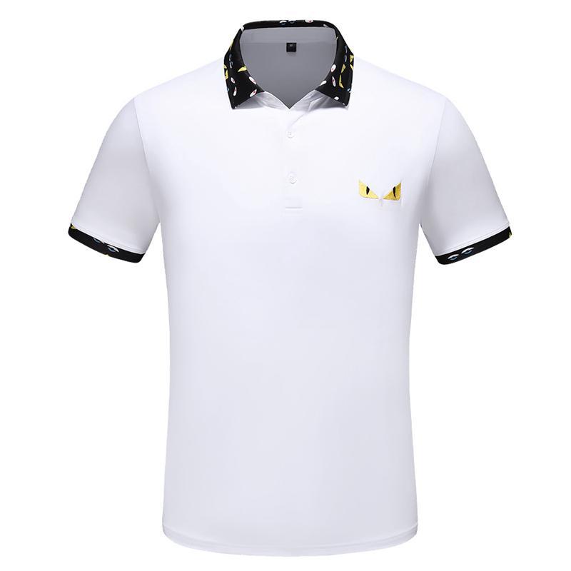 Nuova estate cotone T-shirt Designer caldo di marca T-shirt in cotone a manica corta di distribuzione libero H9764313 delle donne degli uomini di lusso