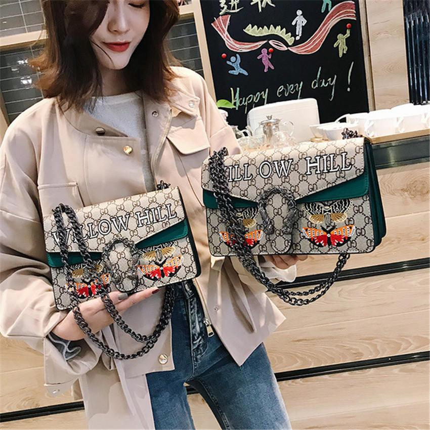 Дизайнер новые Женщины сумки на ремне заклепки плечевой ремень седло сумки дизайнер сумки Messenger Crossbody сумка высокое качество