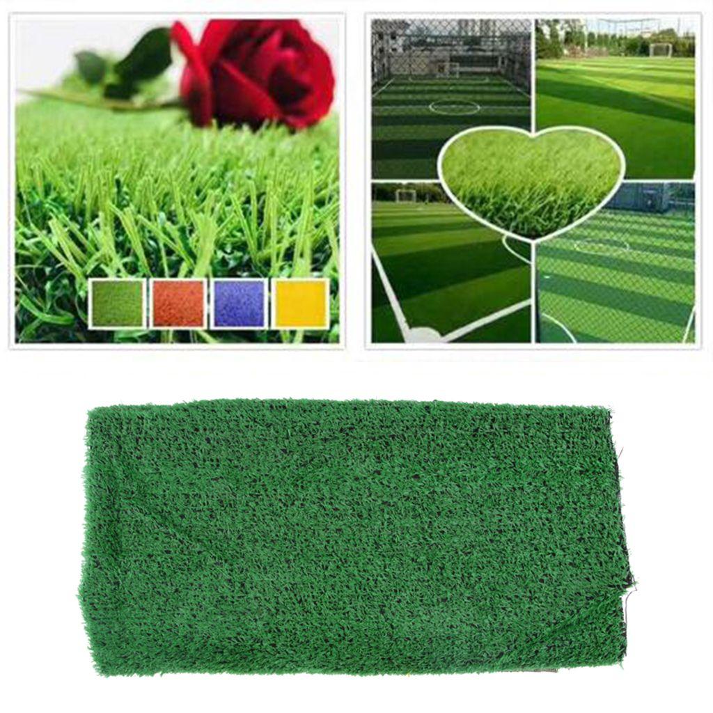 3x Künstlicher Gras-Rasen-Fälschungs-Gras-Matten-Haustier-Hunde Gebiet Turf 1x2m (3.28x6.56ft)