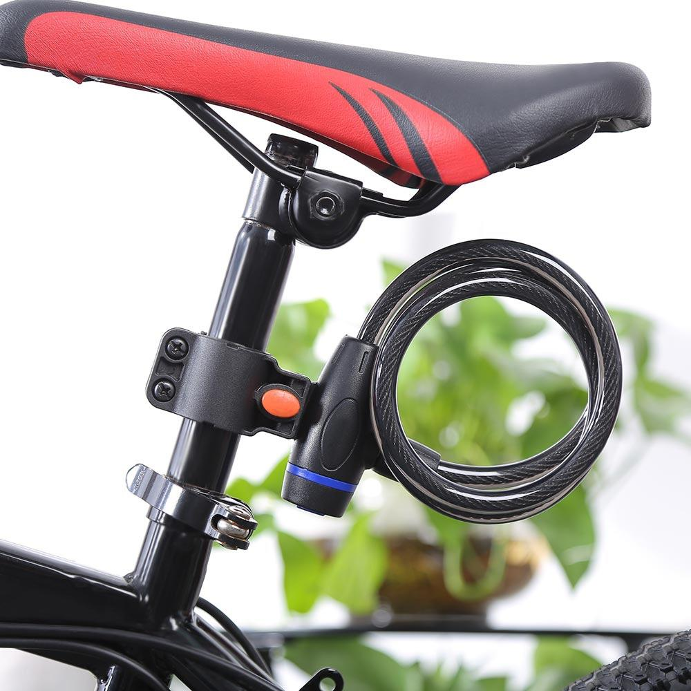 BIKE CYCLE BICYCLE SECURITY LOCK WITH KEYS