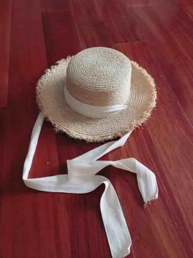 Hats Too Cap Sun Hats for Women Lafite Grass Sun Hat Unisex Jazz Straw Hat Raw Straw Hat Japan Panama Hat