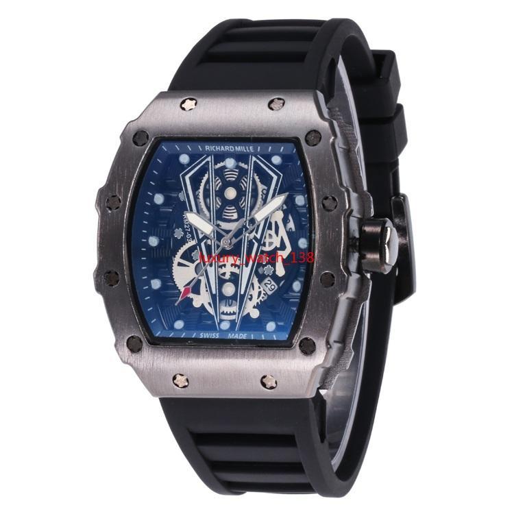 Gli orologi del quarzo degli uomini della cinghia del gel del silice di FL WOMEN / MEN affari degli affari progettano gli orologi da polso del quarzo di stile di disegno Trasporto libero all'ingrosso