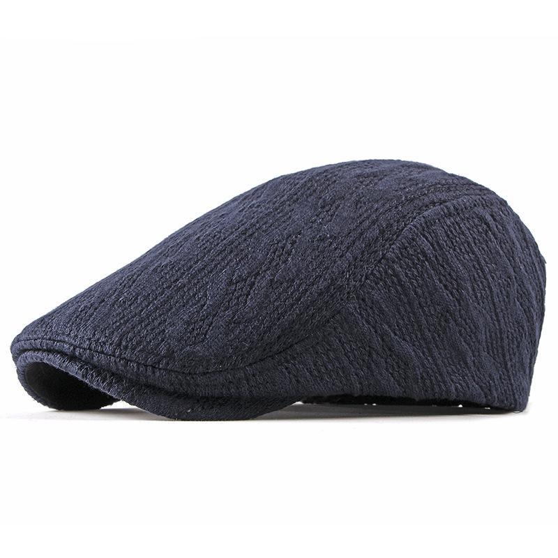 2019 جديد أزياء المرأة الرجال موزع الصحف قبعة الحياكة القبعات النايلون القبعات للرجال الخريف الشتاء قبعة جيسون ستاثام