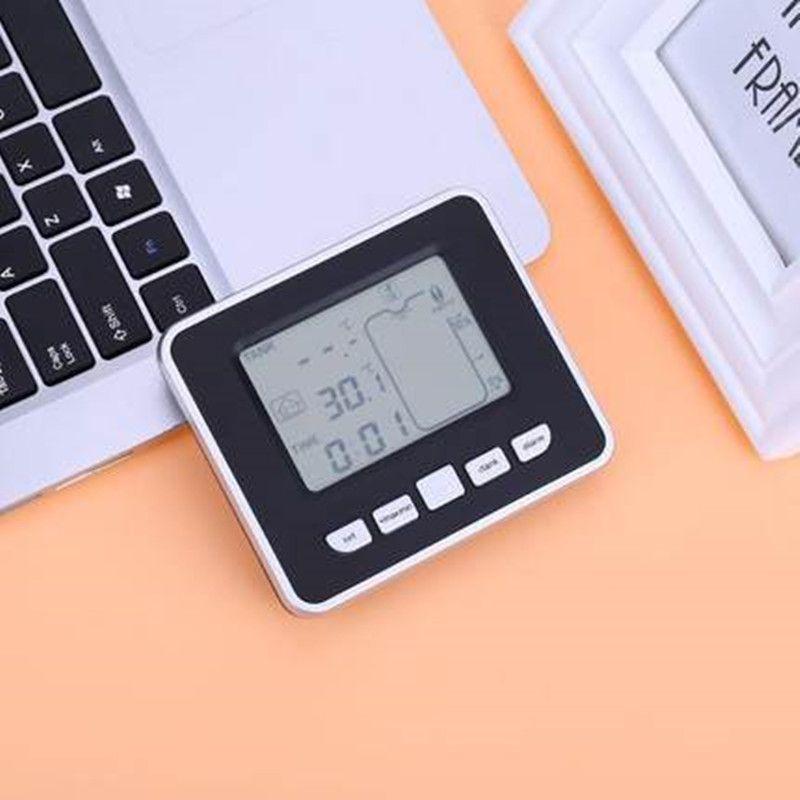 Medidor de Nivel ultras/ónico para Tanque indicador de Temperatura l/íquida Pantalla Digital LCD indicador de Temperatura Interior