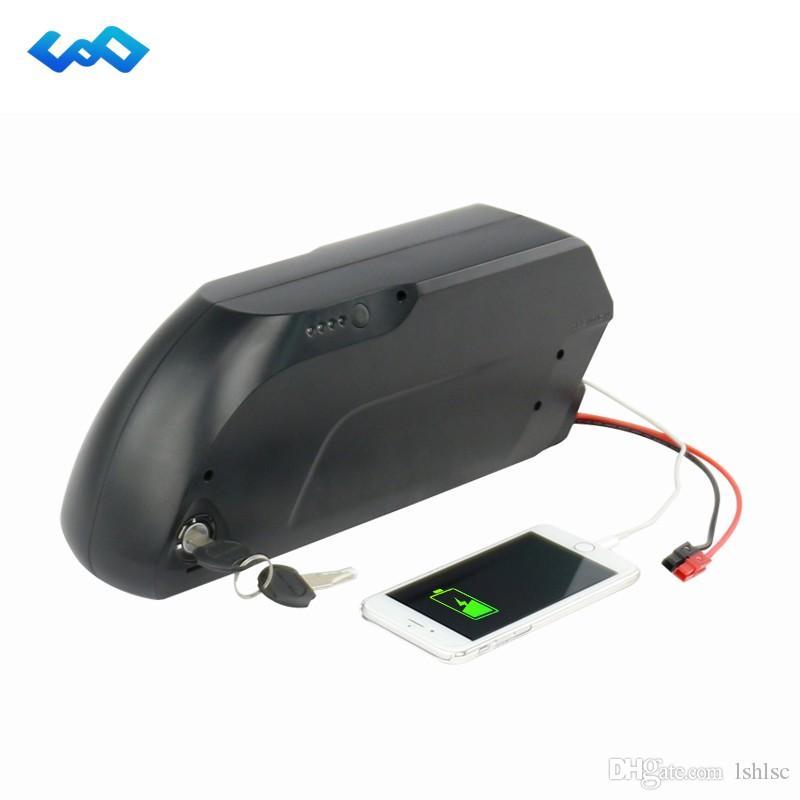 E-Bike Aşağı Tüp Pil 48 V 10.4Ah Lityum Pil kullanın Bafang BBS03 için LG Cep Elektrikli Bisiklet Şişe Pil