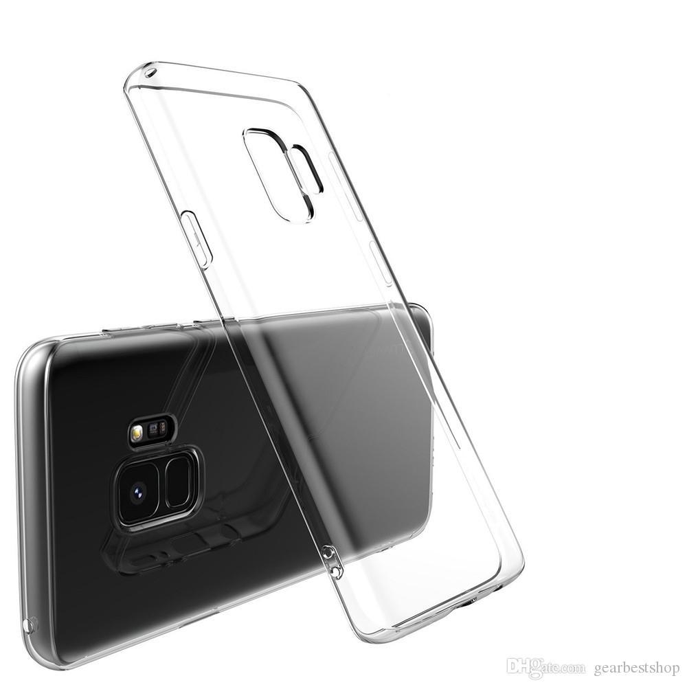 Samsung Galaxy S9 Artı Şeffaf TPU Yumuşak için Kılıf Suit