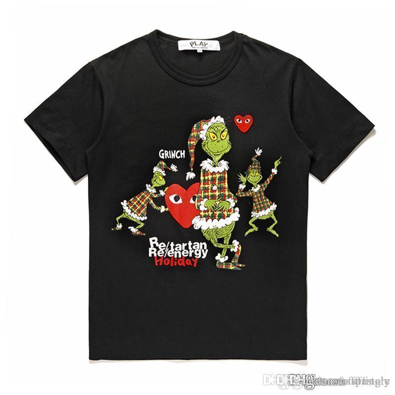 2018 COM en gros nouvelle meilleure qualité CDG nouvelle TARO OKAMOTO JAPAN limitée jouer coeur t-shirt de vacances t-shirt