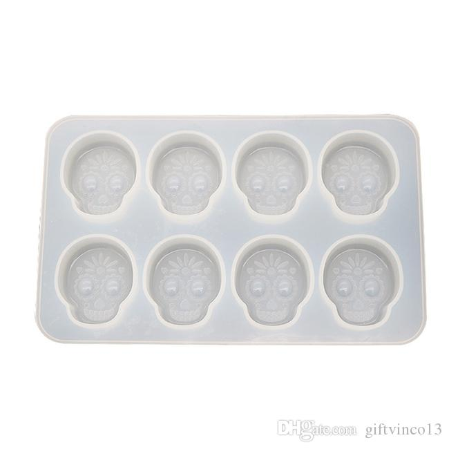 Chocolate Or Soap Mould Flexible Mold Cowboy Skull Resin