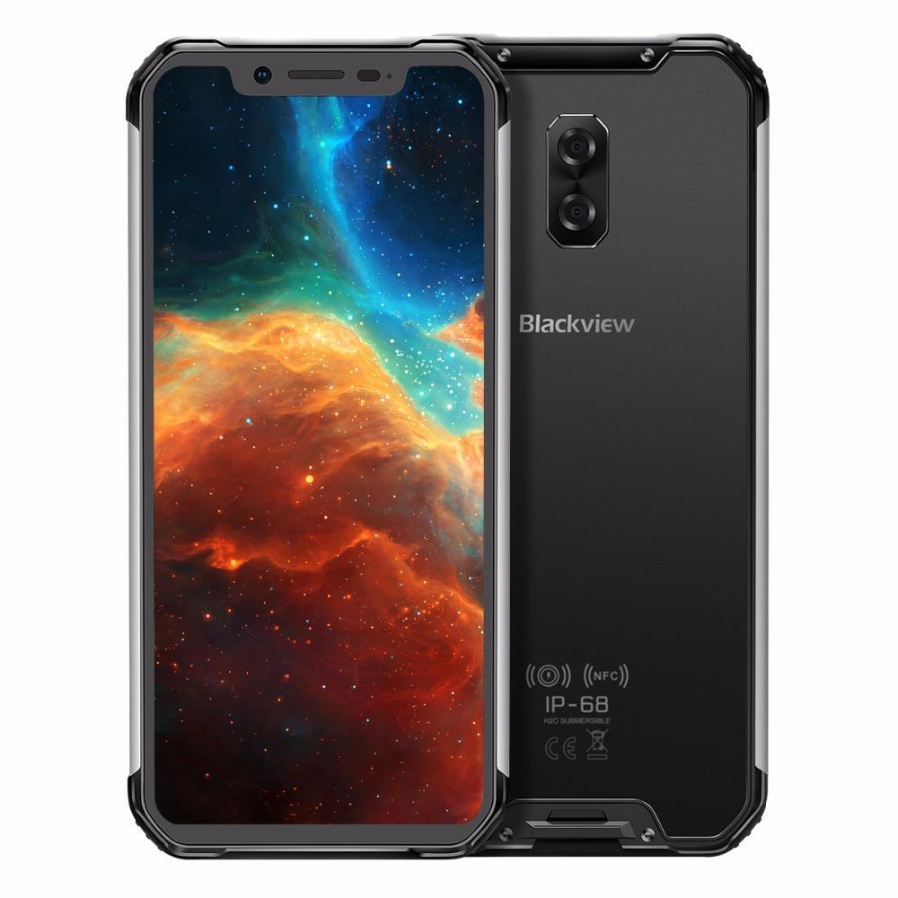 "Blackview BV9600 Rugged Waterproof Helio P70 Global 4G Mobile Phone 6.21"" Android 9.0 Smartphone 4GB RAM 64GB MT6771T 5580mAh"