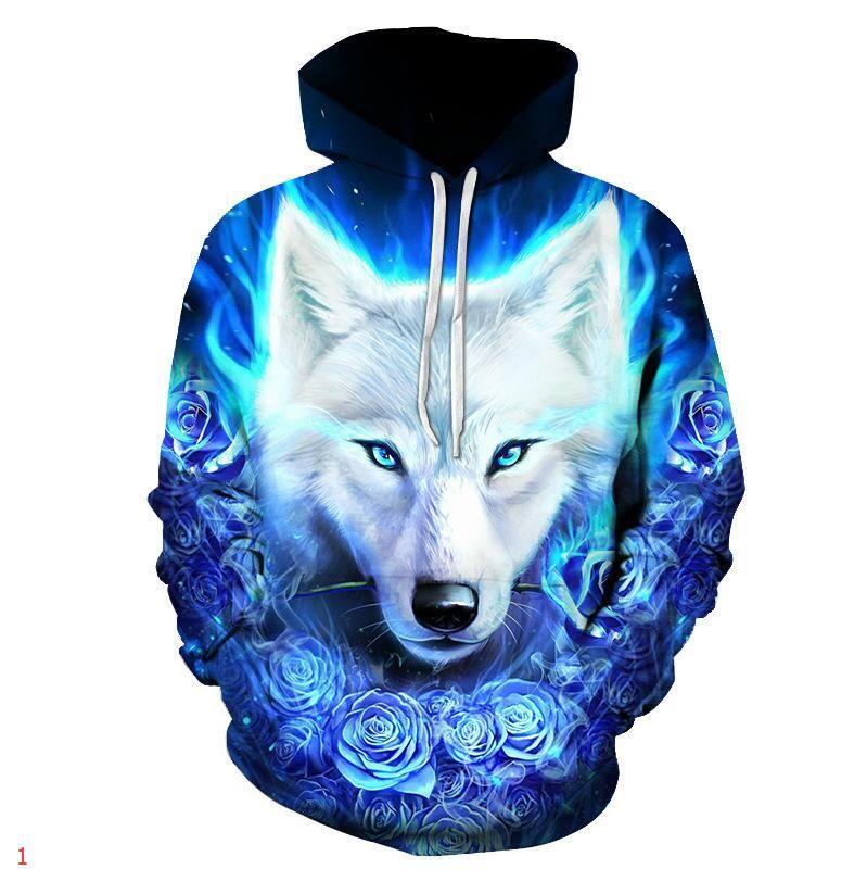 Homens Designer Casacos com capuz Moda Estilo Windbreaker Magro Para Homens Mulheres Jacket Cabeça do lobo Tops Zippers Marca Jackets Coats Luxo Hoodies 1p