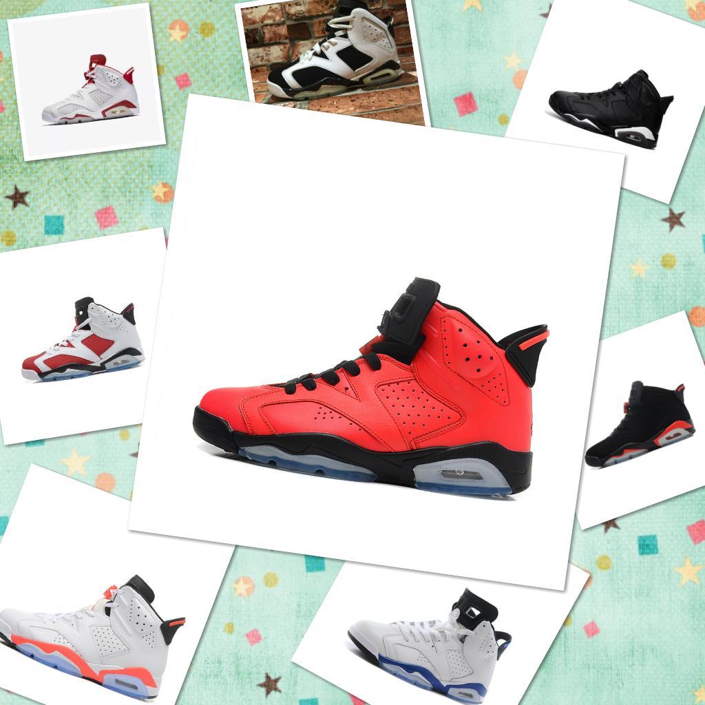 2019 브랜드 남성 신발 6 6s 남성 운동화 UNC 3M 검은 고양이 적외선 23 Carmine Maroon Oreo zoom designer shoes