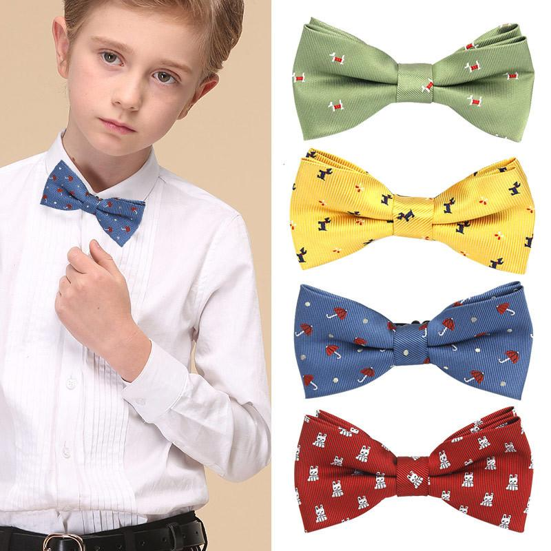 Boys Kids Baby Bow Ties Necktie Bowtie For Parties Photos Accessories Simple New