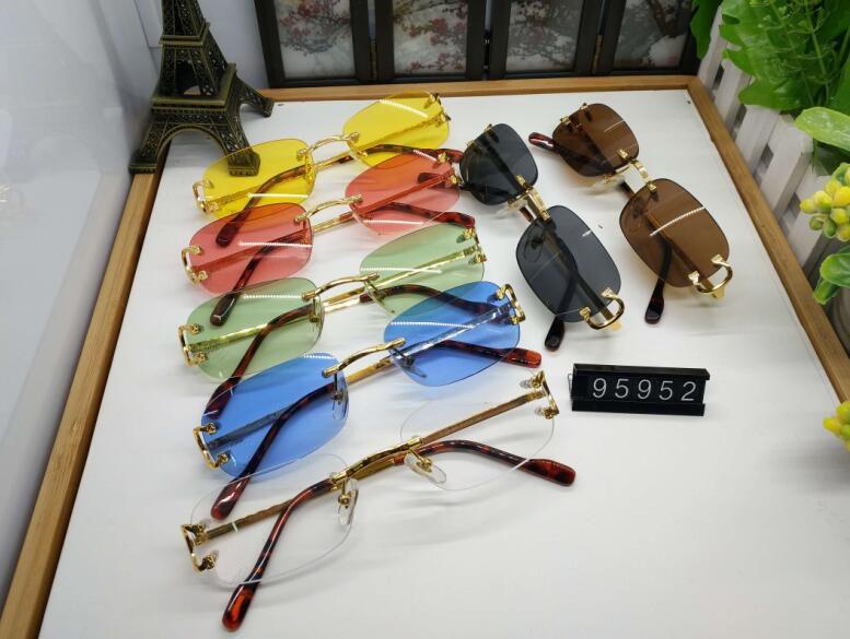 Франция спортивные солнцезащитные очки для мужчин экологически новая мода мужчина мужчина женщина стекло без ретро ретро винтажные золотые очки для очков буйволов