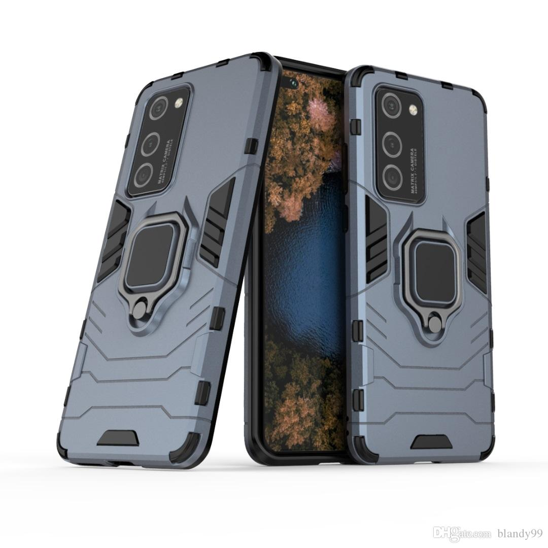 casos de telefone híbrido de casos Armadura anel à prova de choque Para Huawei p40 companheiro de 30 honra V30 nova 6 se 7i jogar 3 pro Lite