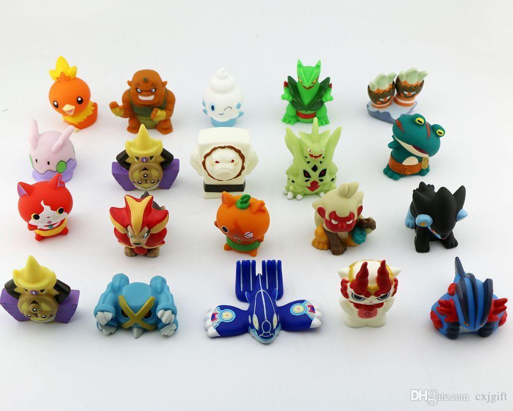 бесплатная доставка Оптовая фигурка игрушка палец игрушки рекламный подарок ручной кукольный игрушки для детей смешать элементы