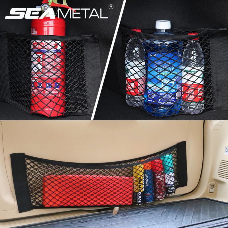 Car Cargo Boot Trunk Storage Organizer Luggage SUV hatchback Tidy Net 40x25cm UK