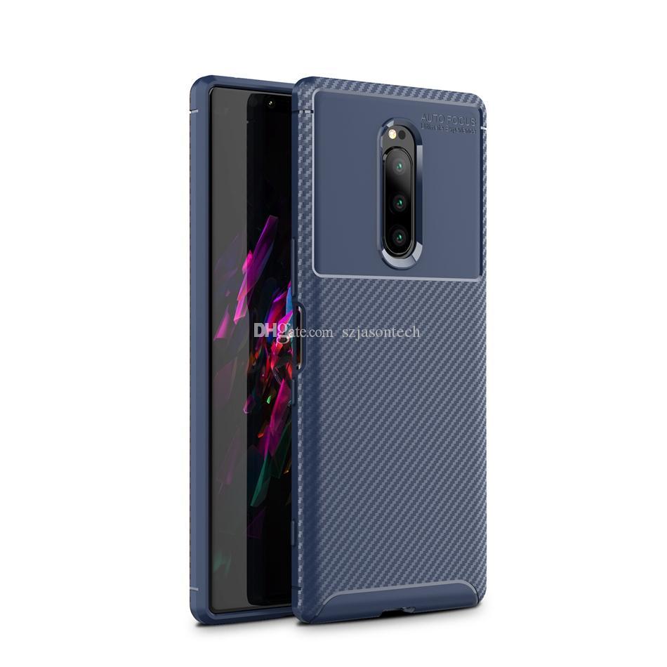 Für Sony XA2 Plus-XZ2 Plus Compact Premium-XZ4 Fall TPU Beleg Wasser Schmutz beständig Kratz- Telefon-Abdeckung für iPhone