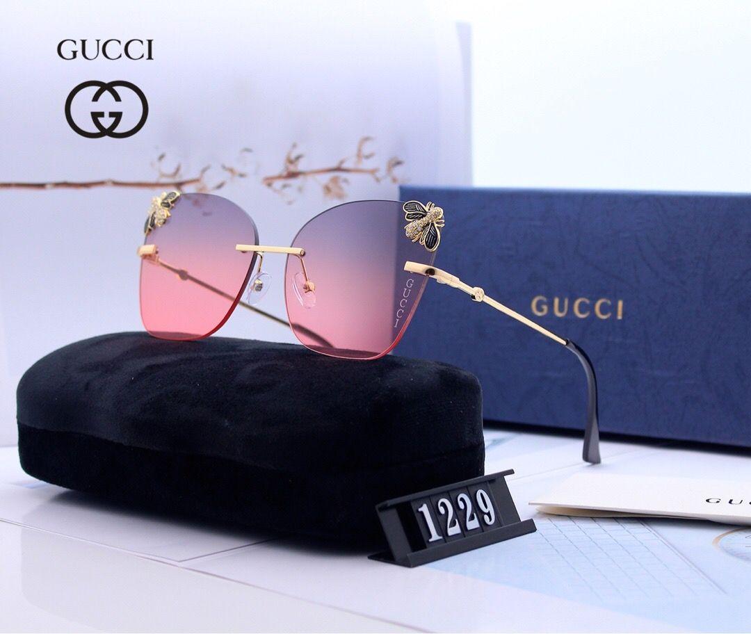 Sunglasses Fashion 2020.2020 Luxury Bee Men And Women 8cgucci Sunglasses Fashion Oval Sun Glasses Uv Protection Ladies Sunglasses Mirror Big Letter Dg Prescription Sunglasses