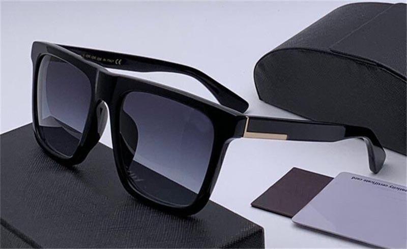 새로운 판매 패션 디자이너 선글라스 105T 사각형 프레임 기능 보드 재료 인기있는 간단한 스타일 최고 품질 uv400 보호 안경
