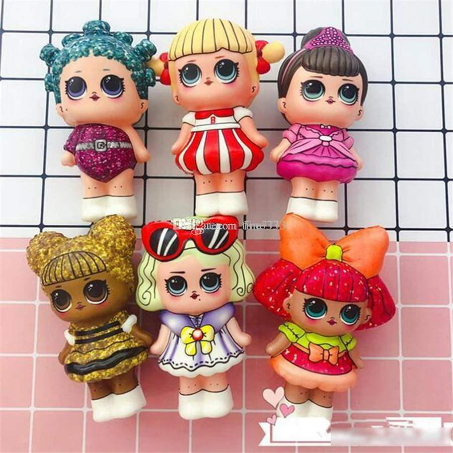 LOL mole Toy lenta Nascente Aliviar Jumbo Estresse lol Multicolor Crianças Squeeze Brinquedos Crianças descompressão brinquedos dos miúdos lol