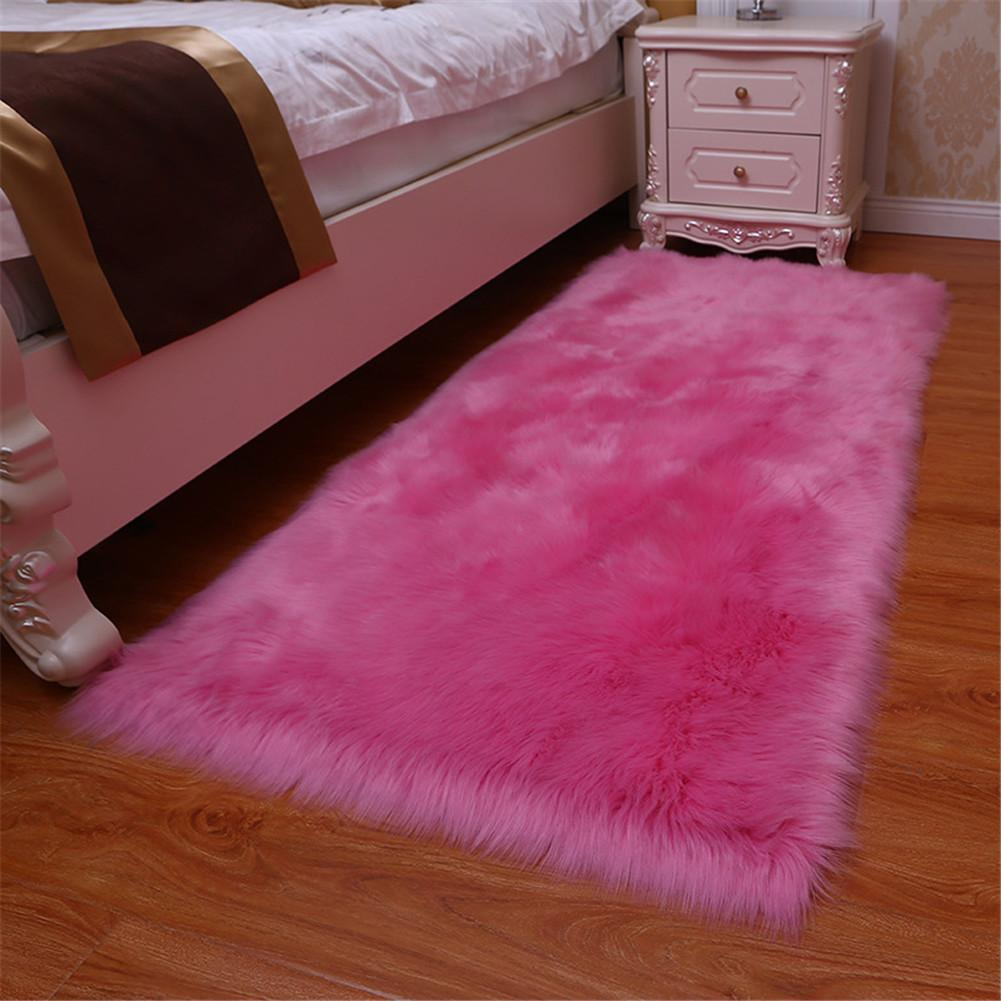 Hot Artificial Wool Carpet Shaggy Fluffy Rugs For Living Room Bedroom Lsf99 Braided Rug Carpet Binding From Sophine08 12 85 Dhgate Com
