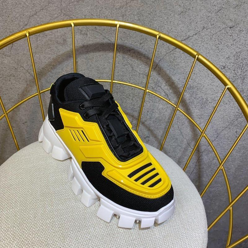 H827 2019 Luxury Designer Mens Shoes Men's And Women's Sports Shoes Thick-soled Lace-up European And American Star Gym Shoes lts