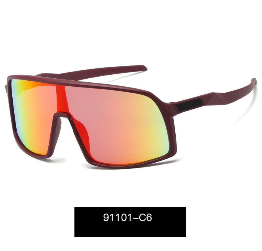 L'ultima resina vendita popolare mens modo del progettista grande cornice occhiali da sole di lusso piastra quadrata lente UV400 cornice combinazione di alta qualità