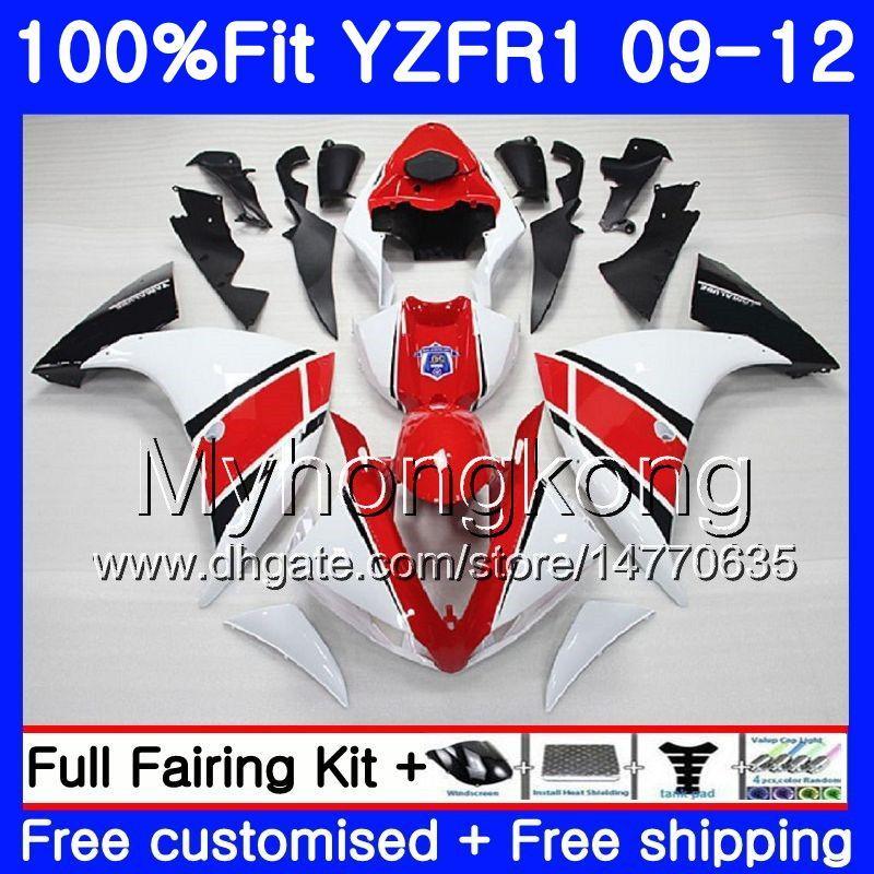 사출 용 YAMAHA 광택 용 백색 새로운 YZF 1000 R 1 YZF-1000 YZFR1 09 10 11 12 241HM.21 YZF R1 YZF1000 YZF-R1 2009 2010 2011 2012 공정 키트