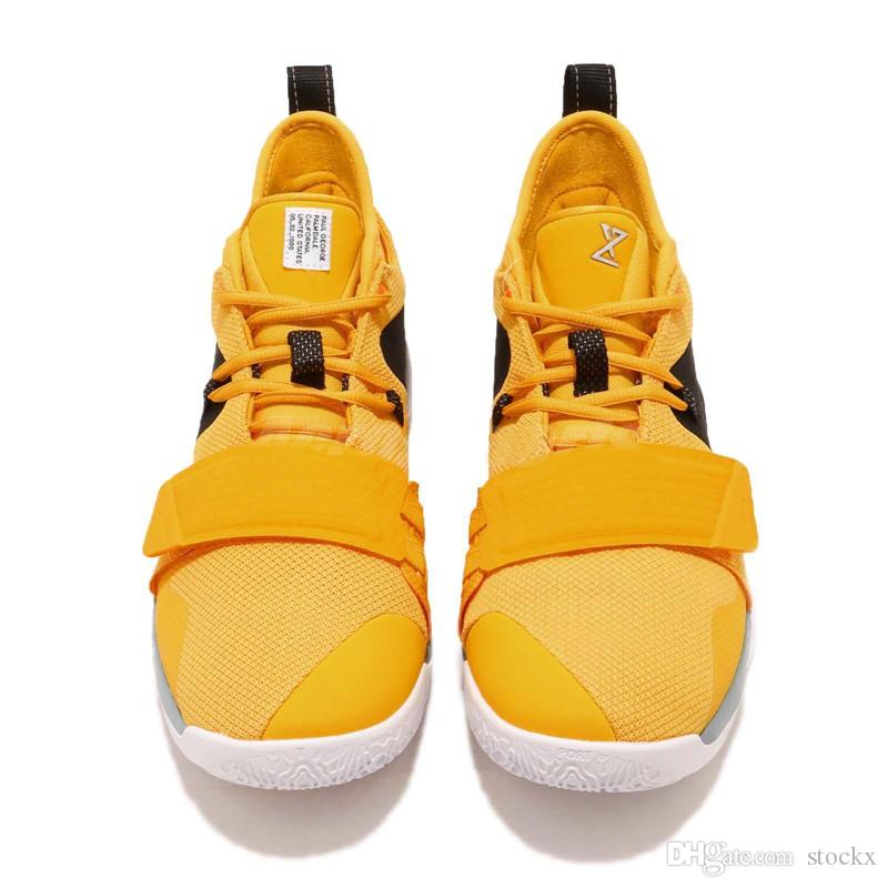 the latest a0f20 e75b6 New PG 2.5 EP Paul George Basketball Shoes Moon Exploration Amarillo Yellow  Men Shoes BQ8453 700 For Sale With Box Women Basketball Shoes Men ...