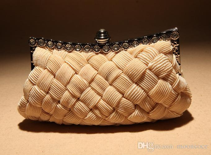 Woven Mode Sommer Frauen Messenger Bags Box Stil Stroh Weave Lock Strand Handtasche Damen Party Abend Umhängetasche Weiblichen Clutch