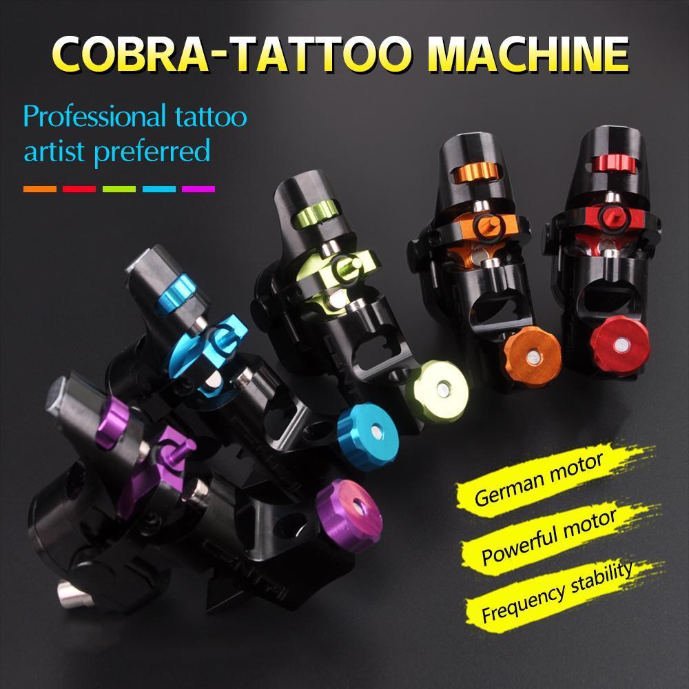 SPARK Dreh-Tattoo Maschine Shader Liner 5 Farben sortierte Tatoo Motor-Gewehr für Tätowierung Kunst Motor Microblading Aluminiumlegierung