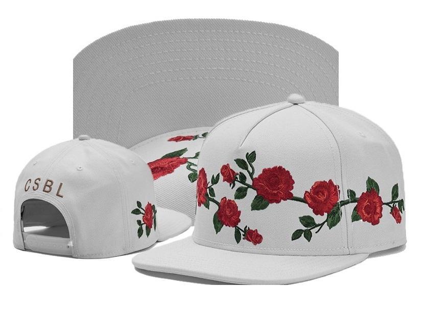 Cayler & Sons Snapback Caps CSBL Rose Flower baseball Hats Adjustable Hat Cayler Sons Snapbacks Casquette Gorras hat Trust Wave men women