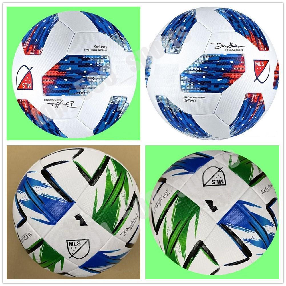 뉴 아메리칸 리그 고품질의 볼 MLS 축구 공 2020 미국 최종 키예프 PU 크기 5 공 과립 미끄럼 방지 축구 무료 배송