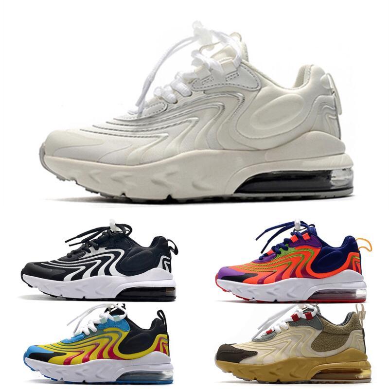 Nike air max 270 2020 Sneakers Crianças V3 Crianças sapatos respirável Crianças Meninos Meninas bonitos sapatos de desporto de moda Sapatilhas do bebê Atlético