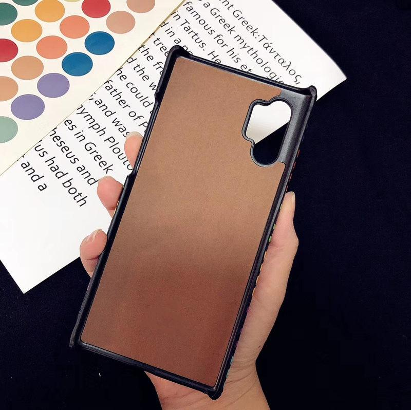 For Samsung S20 S10 S9 S8 Plus Note10 Leather Hard Phone Cover for iphone 11 Pro Max 7 8 plus XS XR XsMax Phone Cover for Huawei P40 Mate30