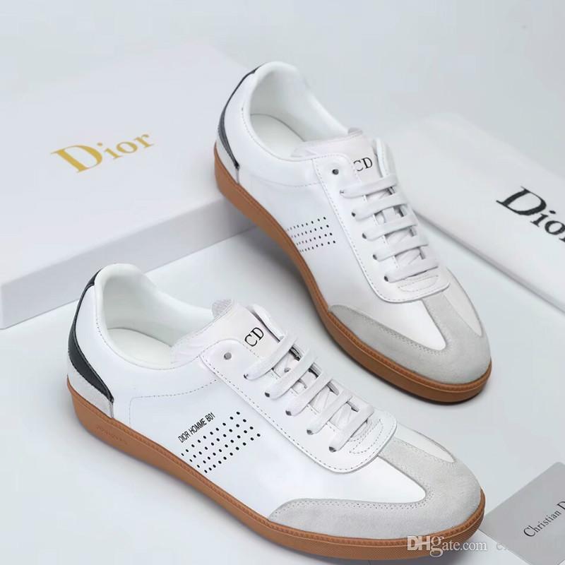 Yüksek kaliteli moda sonbahar ve kış yeni rahat ayakkabılar orijinal basit erkek sürüş ayakkabı mükemmel rahat nefes erkek koşu sho
