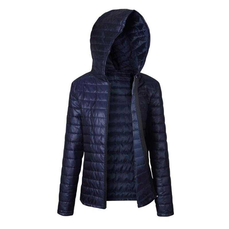 Lanxirui Parkas beiläufige Mantel-Qualitäts-Kapuze Warm Thin Winter Damen Parka Zipper Mäntel Plus Size Broadcloth Mantel Nov29