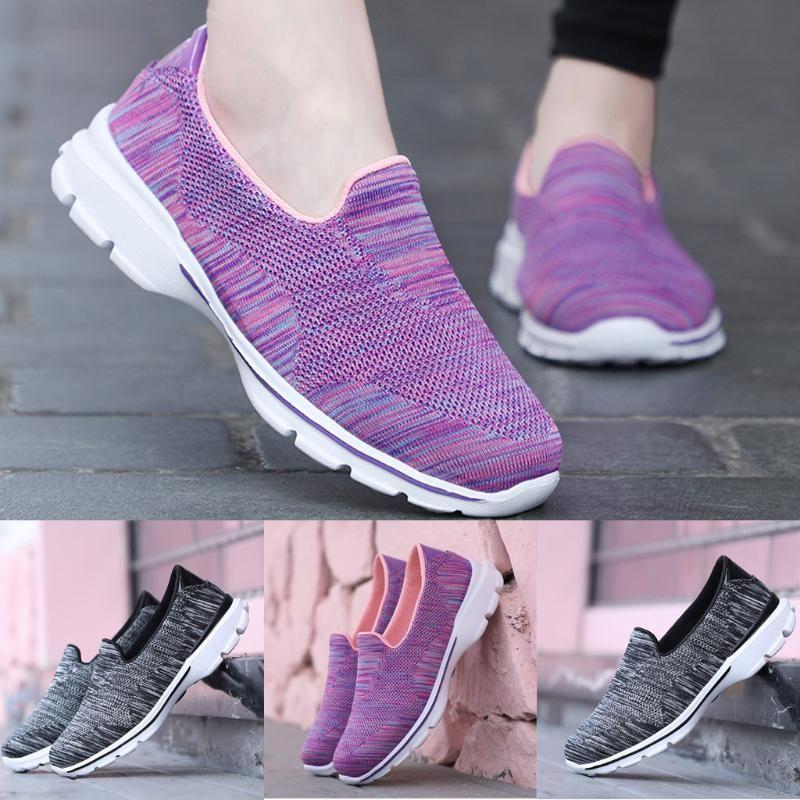 2019 piedi scarpe delle signore delle donne in mesh traspirante Sneakers donna Anti-Skid per il tempo libero comode scarpe da esterno Zapatos De Mujer