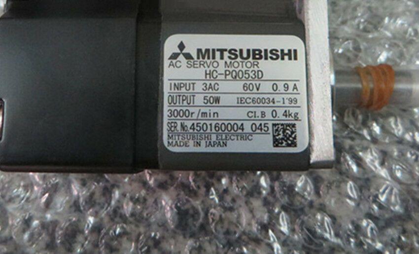 One Mitsubishi HC-PQ053D AC Servo Motor HCPQ053D Free Expedited Shipping New In Box