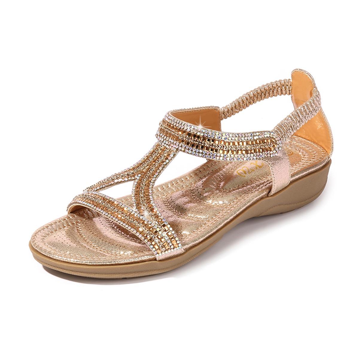 Frauen Schuhe Hausschuhe Gelegenheitsspiele Strand Sandalen Rutschfeste Modisch
