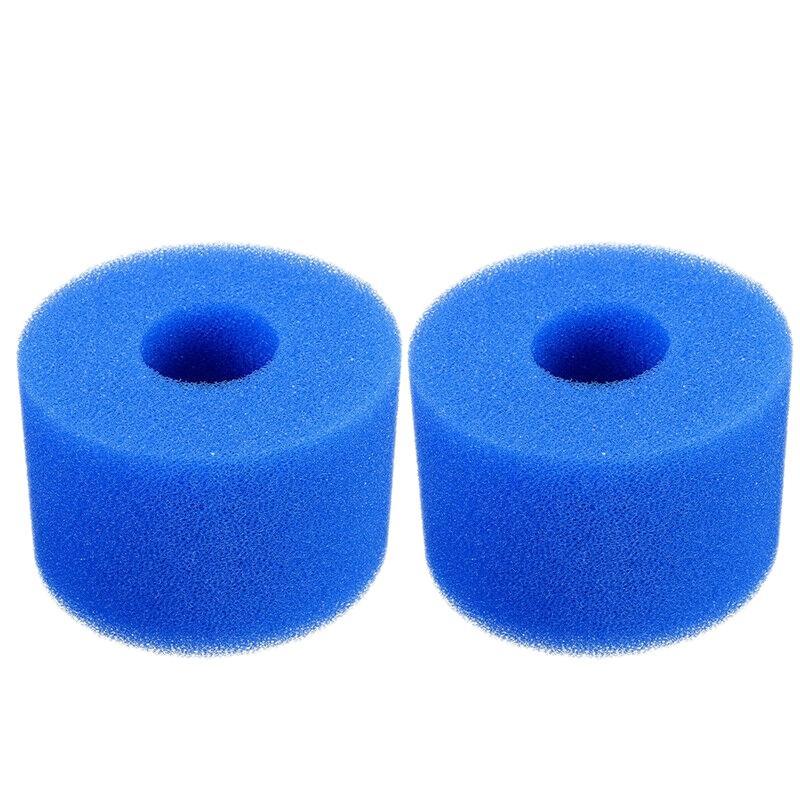 für Intex Pure Spa Wiederverwendbare Waschbar Foam Hot Tub Filterpatrone S1 Typ