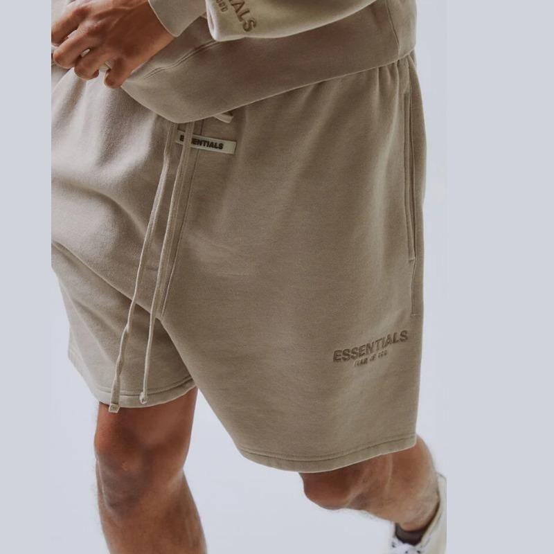 19ss Fear Of elastico in vita Dio FOG Essentials riflettente Pantaloncini Vintage Via Outdoor pantaloni di scarsità di sport casuale allentata Pantaloncini HFYMKZ170