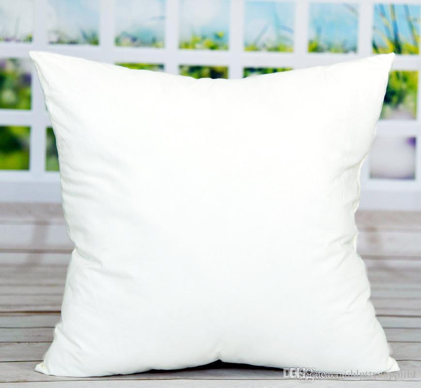 45 * 45CM التسامي ساحة سادات DIY فارغة غطاء وسادة المخدة لنقل الحرارة حالات أريكة وسادة بيضاء فارغة رمي وسادة A06