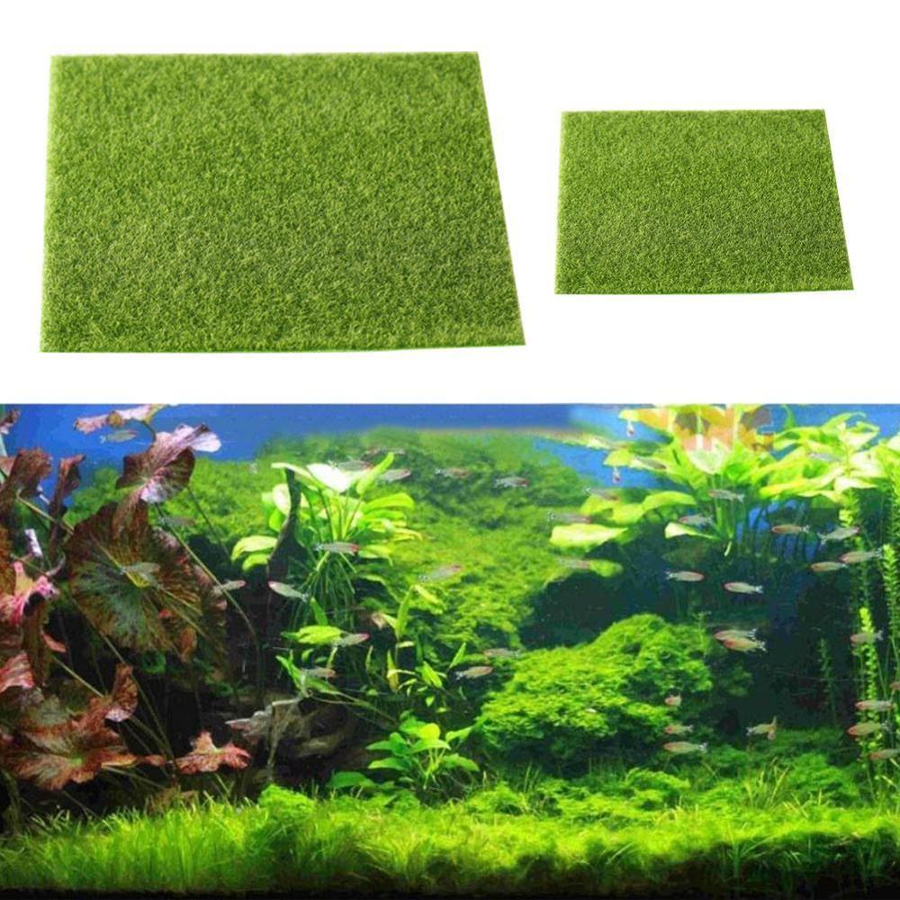Micro Landscape Artificial Grass Landscape Accessories Aquarium Decor Artificial Lawn Garden Real Moss 30x30 cm